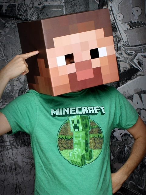 halloween costume idea for my minecraft obsessed boys :)