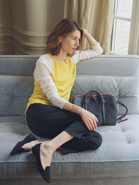 Sofia Copolla. Love her simplicity style.