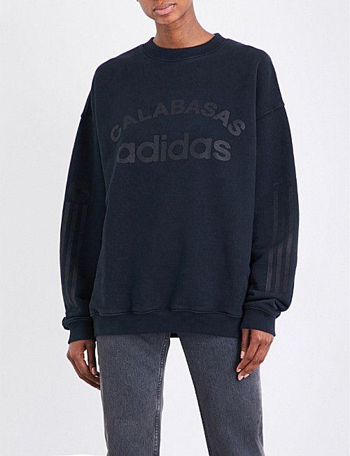 YEEZY Season 5 Calabasas adidas cotton-jersey sweatshirt