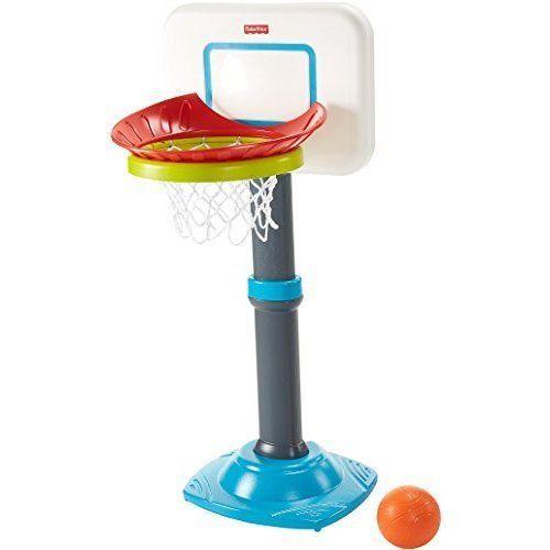 Mini Basketball Hoop For Toddlers Fisher-Price Easy Score Adjustable Set New  #MiniBasketballHoopForToddlers