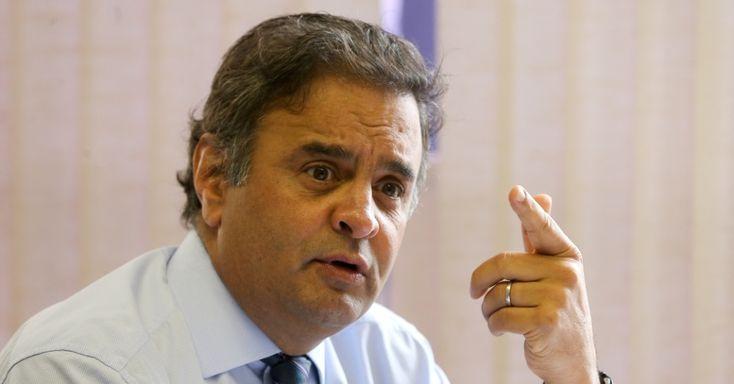 Aécio Neves envia 27 perguntas à PF sobre os áudios da JBS
