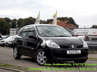 Renault Clio III expression TÜV NEU than small cars in Warsow