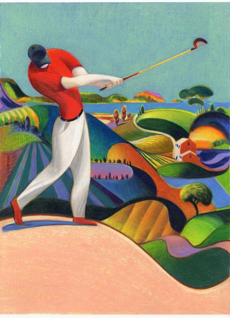 lorenzo mattotti italy golf