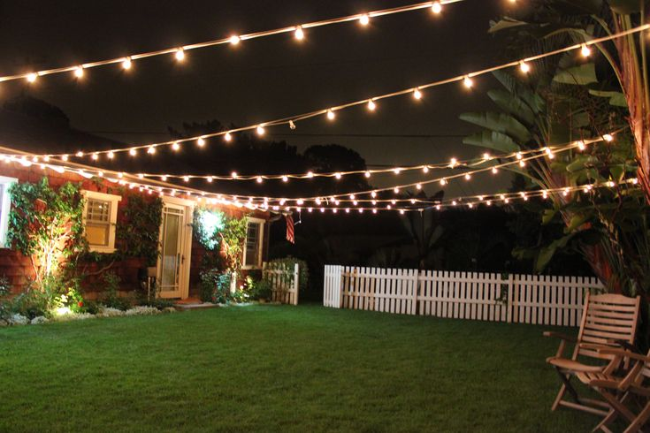 garden design with backyard lighting on pinterest string lights backyards and patio with backyard swimming backyard lighting ideas