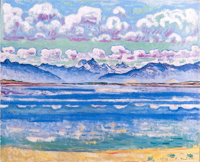Weisshorn of Montana, 1915 Ferdinand Hodler by BoFransson, via Flickr