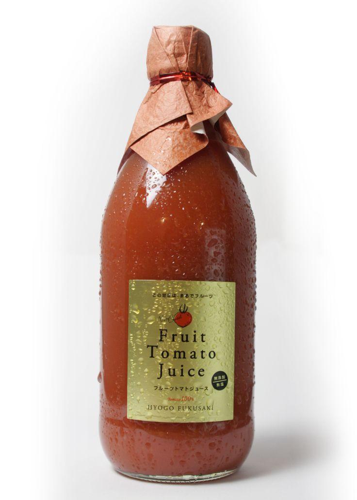 トマトジュースのパッケージデザイン #パッケージデザイン #ブランディング #Packagedesign #Branding