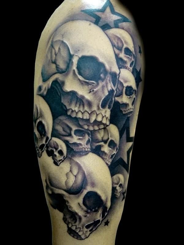 demon tattoos google search tattoos pinterest blog totenk pfe und sonstiges. Black Bedroom Furniture Sets. Home Design Ideas