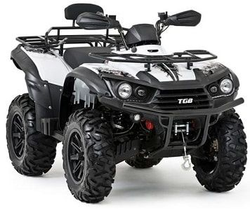 White farm quad 550 SE model. The TGB farm quad range offers an excellent choice of specifications and value for money. For more information or a quotation, please visit our website http://www.fresh-group.com/farm-quad.html or call us on 0845 3731 832