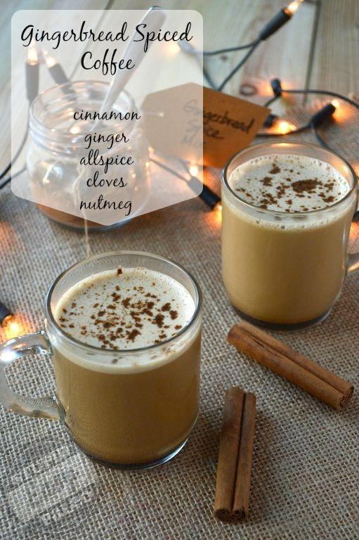 Gingerbread Spiced Bulletproof Coffee