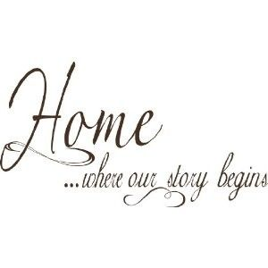 Home sayings | Wall Quotes, Sayings, Phrases for Walls, Vinyl Lettering - Home Quotes