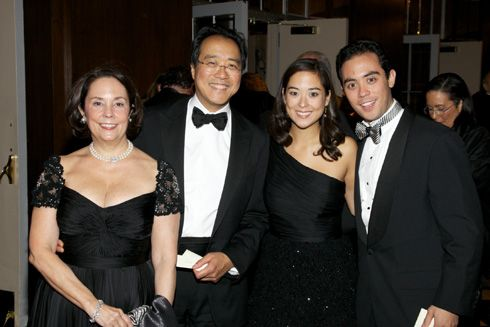 Photo of Yo-Yo Ma & his  Son  Nicholas Ma