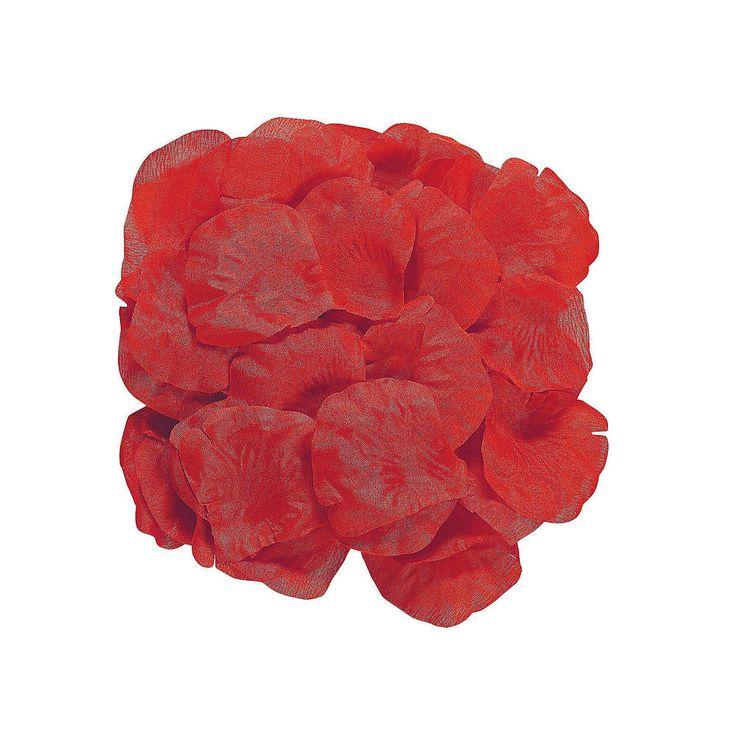 200 Red ROSE PETALS Crafts Wedding Photo Props Decorations Fun Express 32/239 #ebay #redrosepetals #weddingdecor #photoprops