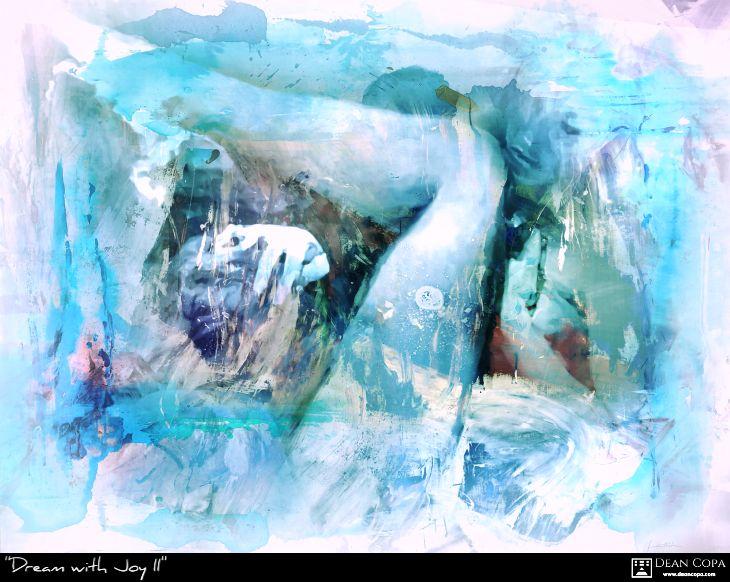 """Dream with Joy II"" 2017 by Dean Copa."