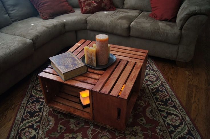 25 best crate coffee tables ideas on pinterest wine for Wohnzimmertisch country