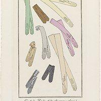 Accessoires maken de vrouw. Judith van Amelsvoort, junior conservator mode en kostuum, heeft onlangs alle handschoenen uit onze collectie gefotografeerd. Gezien de veelal gevlekte vingers, zijn ze met veel plezier gedragen door hun eigenaren. In deze blog vertelt ze over een paar witte glaceetjes: soepele handschoenen van glanzig leder.