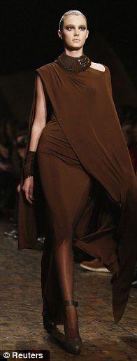 Love this lush color - makes me think of dark chocolate - Donna Karan