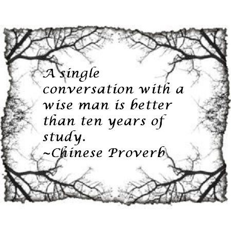Chinese Proverb About Learning