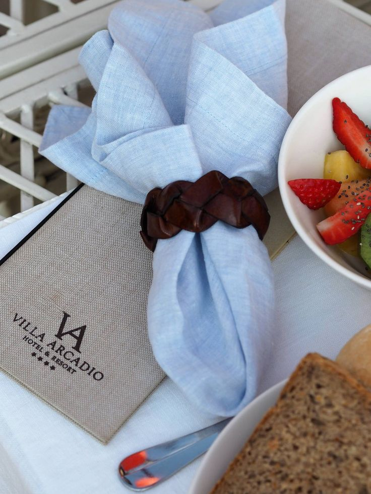 Breakfast on the balcony of Villa Arcadio by the lake Garda. Highly recommended! www.balmuir.com