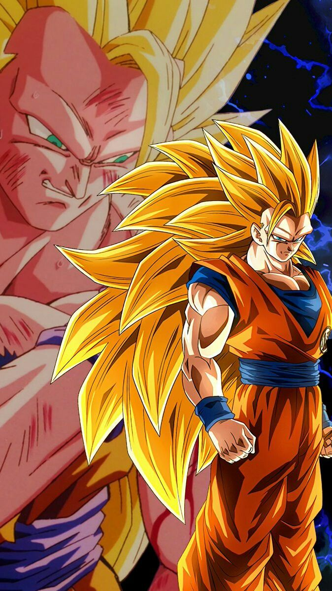 Ssj3 Gokuw Dragon Ball Gt Desenhos
