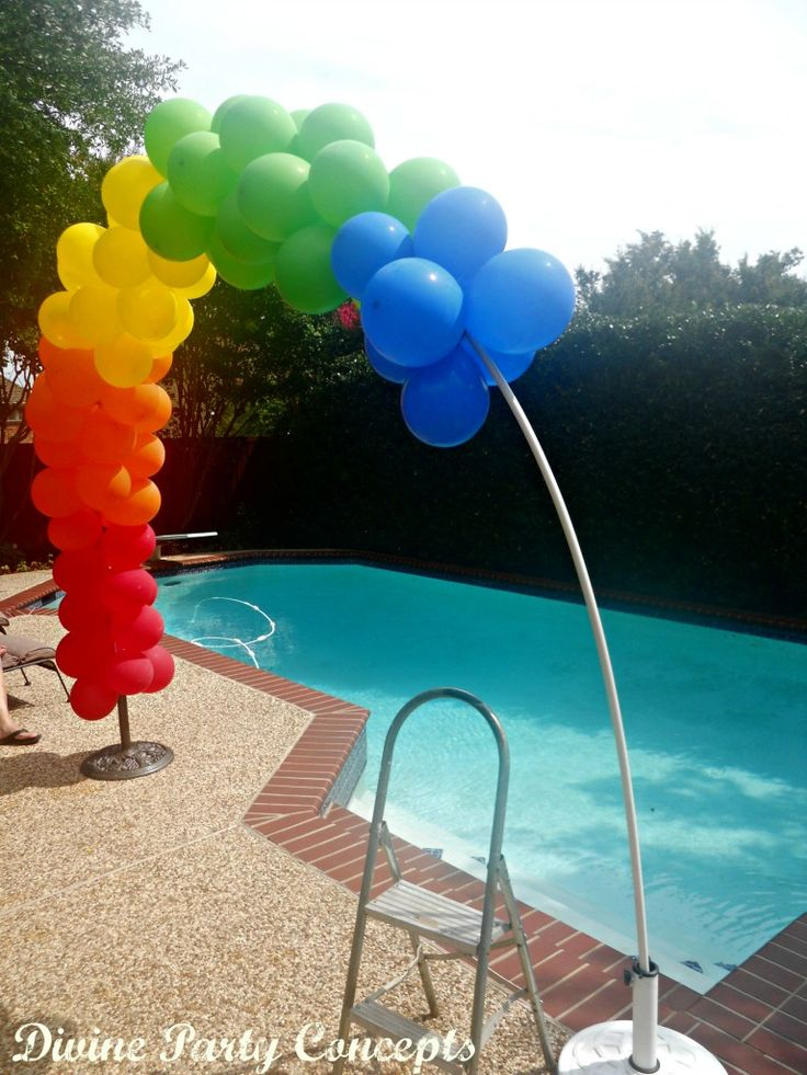 Best 25 balloon arch ideas on pinterest balloon arch for Balloon decoration how to make