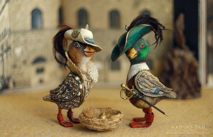 И пусть они приносят свет, радость, исполнение желаний и сказку в ваш дом :)Большое спасибо!!! 'Рыбка' 'Благородная Уточка и Благородный Селезень' 'Звездочка' 'Дедушка…