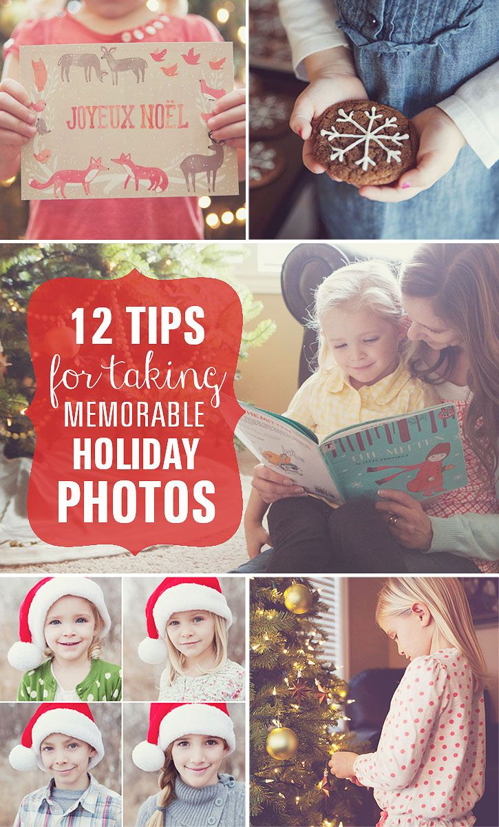 12 quick tips for taking memorable Holiday Photos.