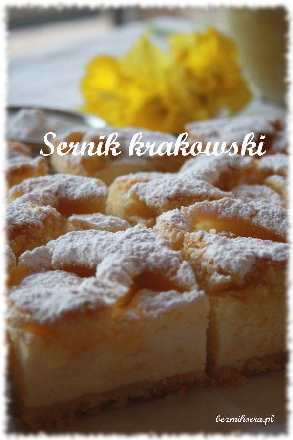 Sernik krakowski czyli sernik z kratką