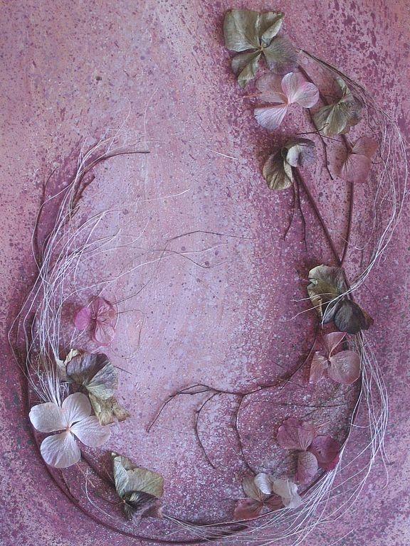 """Интерьерные композиции ручной работы. Ярмарка Мастеров - ручная работа Флористический коллаж """"Сновидение"""". Handmade."""
