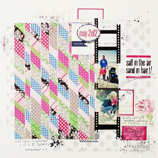 ania maria wolniakScrapbook Ideas, Layout Inspiration, Awesome Pattern, Annmaria Wolniak, Annamaria Wolniak, Hair Aniamaria, Sony Dsc, Scrapbook Layout, Air Sands