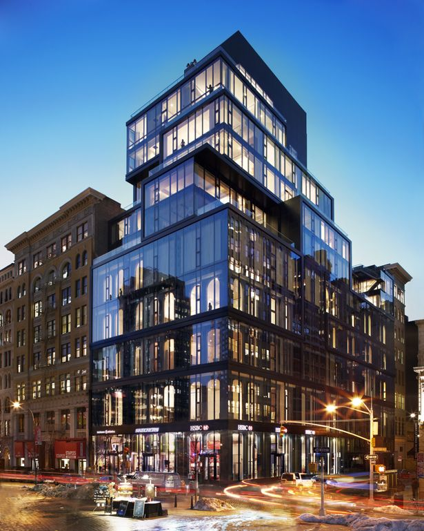 17 best images about condo facades on pinterest manhattan skyline new york and building facade - Residence de standing oda new york ...