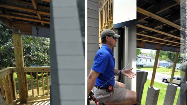Amramp Baton Rouge installs a vertical platform lift for a home with very high elevation in Montegut, LA