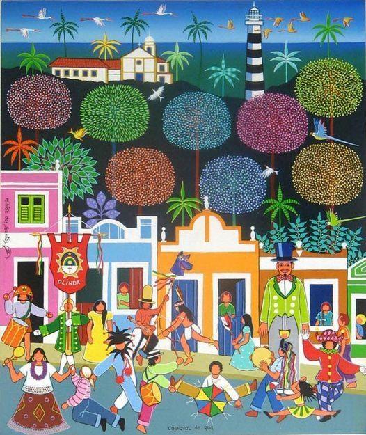 Pictures of  NAIF ART BRAZILIAN ORIGINAL - CARNAVAL DE RUA BRASILEIRO
