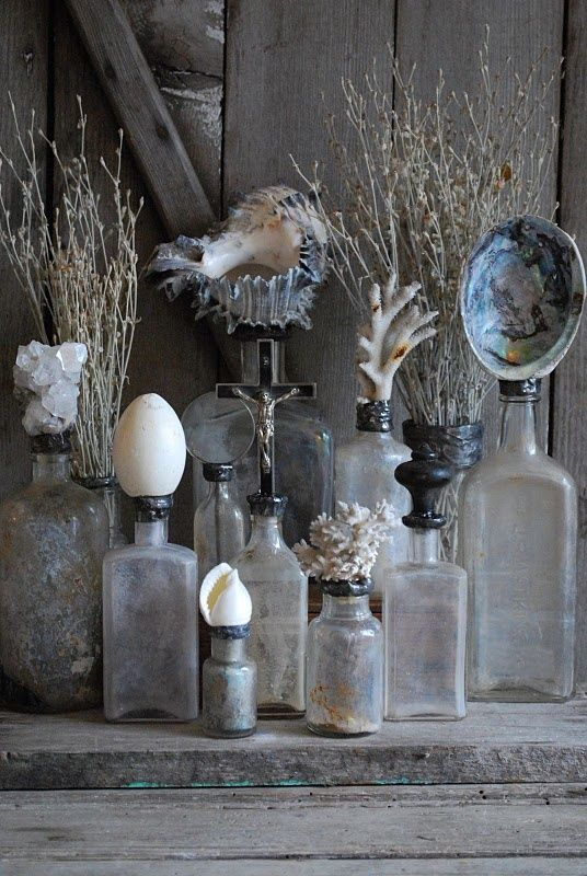 Intersting beach decor, other than the typical lighthouse and shell photographs.