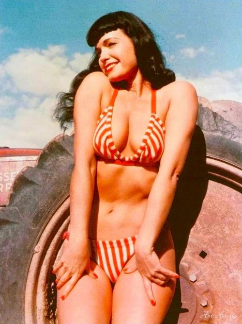 > Bettie Page <