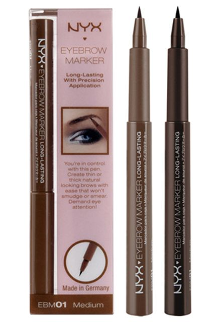Step 6: Fill And Enhance I personally love the precision of a liquid pen for recreating tiny brow hairs, especially if you're covering an over-plucking incident or wanting to extend the reach of your natural brows without looking like a marionette. Available in two colors, you can choose one or both to replicate the natural shade of your brows.