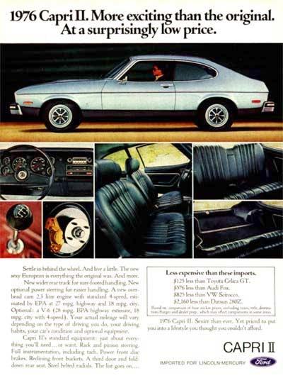 1976 Ford Capri II