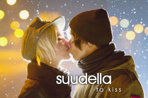 suudella ~ to kiss