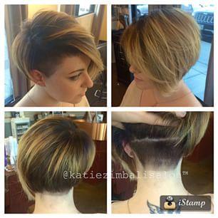 Undercut Bob Google Search Haarschnitt Ideen Frisuren Haar Styling