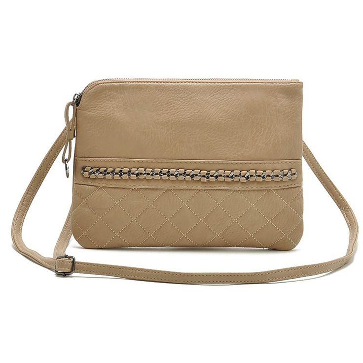 PU plaid shoulder bag female women messenger bags crossbody sling satchels handbags for lady new sale
