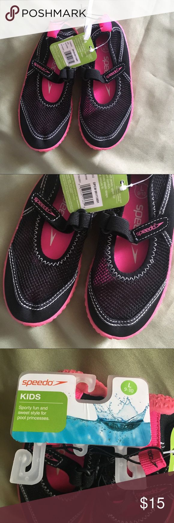 Speedo Kids Water Shoes Sand Large 9 10 NWT Price firm unless bundled! Speedo Shoes Water Shoes