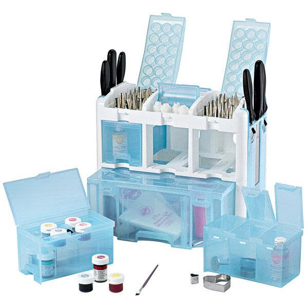 Cake Decorating Equipment Box : 22 best images about Cake decorating storage on Pinterest ...