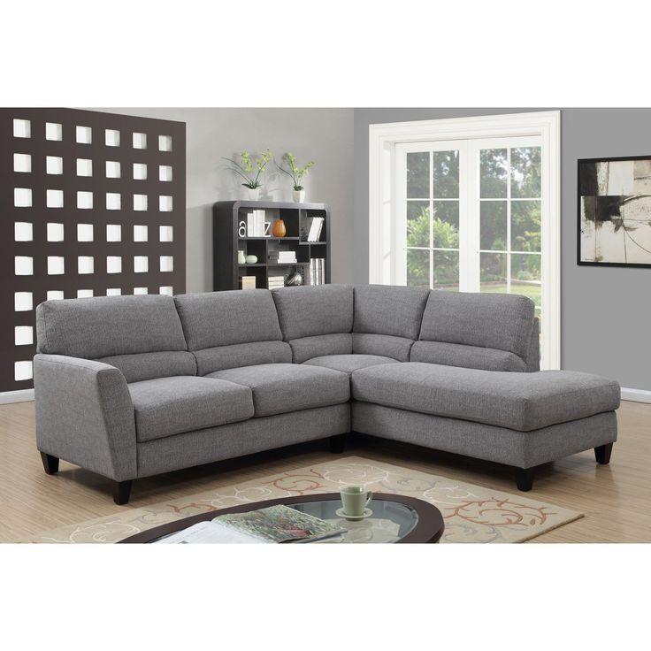 Emerald Home Speakeasy 2 Piece Sectional Sofa - U3207-11-12-29-K