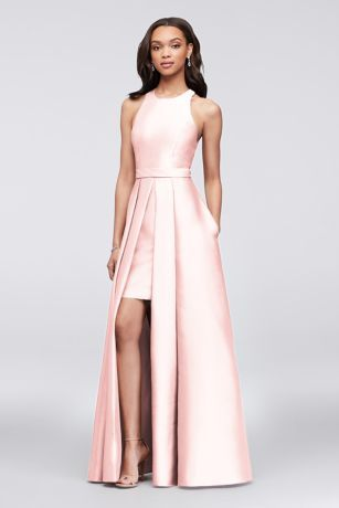 289fb23c29a Mikado Bridesmaids Walkthrough Ball Gown Style F19822