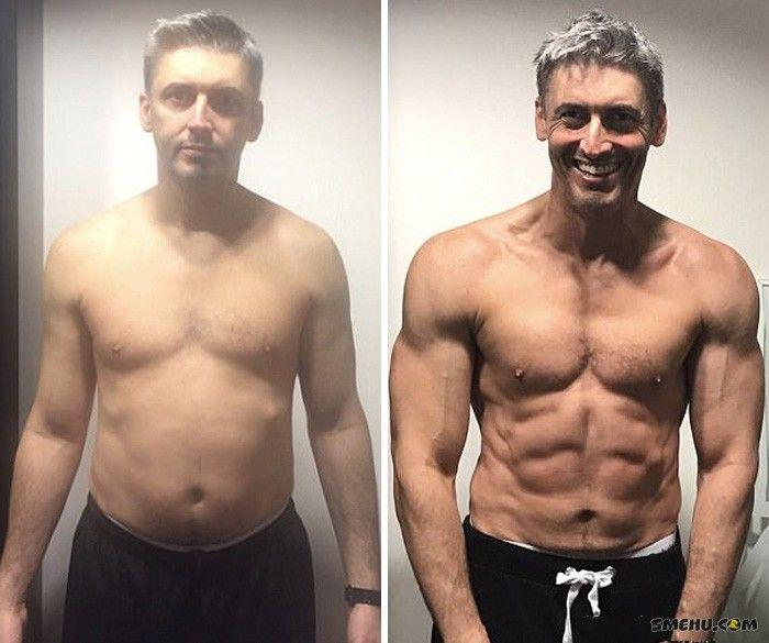 основном фитнес до и после фото мужчины том месте