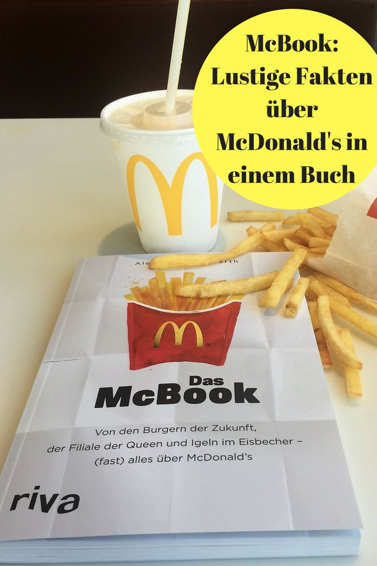 Wusstet Ihr, dass es in Indien einen rein vegetarischen McDonald's gibt? Dass in Japan Ronald McDonald Donald McDonald heißt? Nein? Dann lest das #McBook - mit lustigen Infos über #McDonalds.