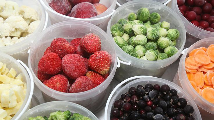 How to freeze vegetables and fruit
