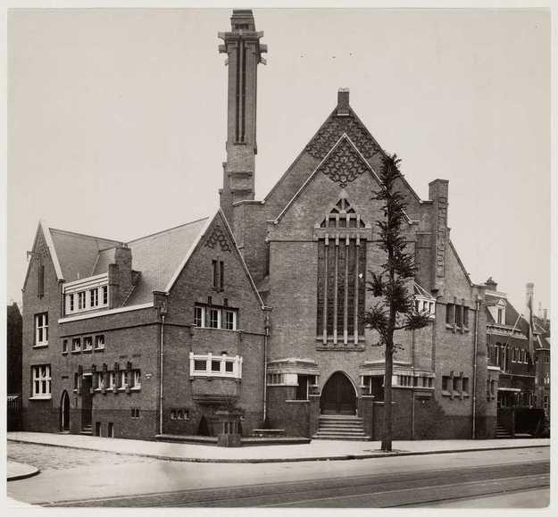 Geheugen van Oost - De oude synagoge