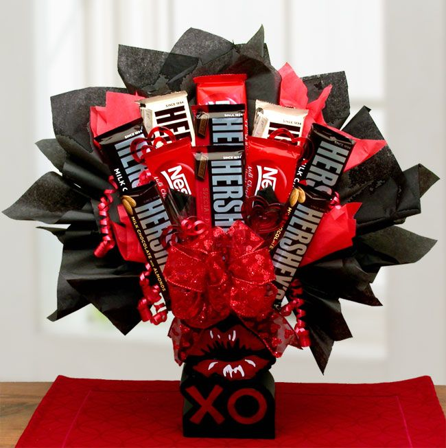 13 best gift baskets images on Pinterest | Chocolate lovers ...