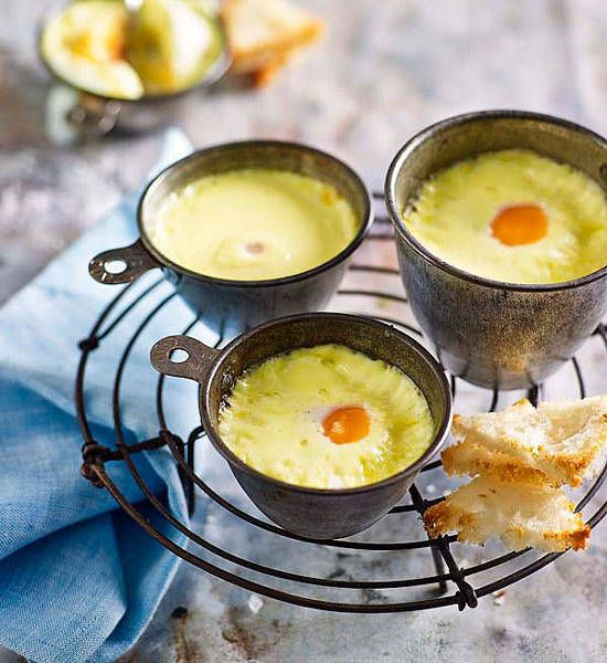 Eggs in pots, or oeufs en cocotte, have been around for as long as man has pondered, 'which came first?'.
