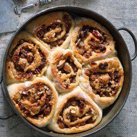 Bramborový koláč s ořechovou náplní  Foto: